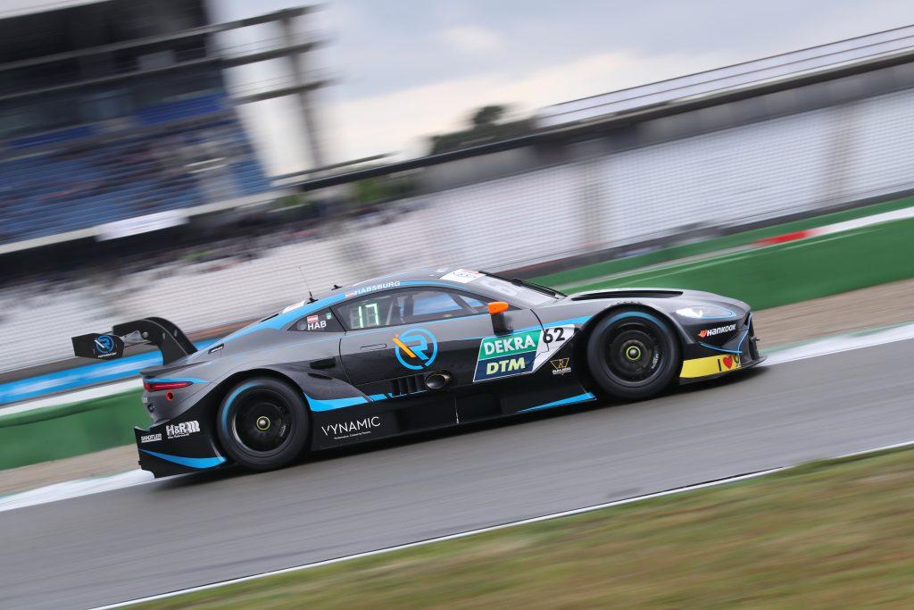 von Habsburg shows potential on DTM debut