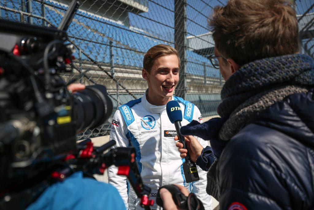 media interview DTM
