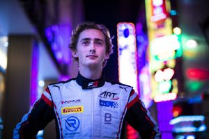 Ferdinand Habsburg racing driver on the streets of Macau